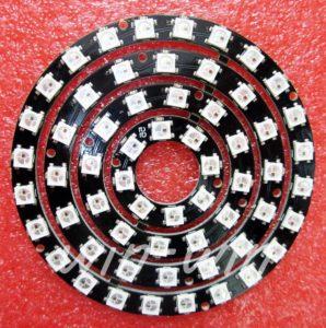 Светодиодное кольцо WS2812b